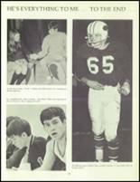 1970 Orono High School Yearbook Page 108 & 109