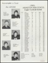1984 Arlington High School Yearbook Page 36 & 37