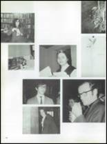 1971 Nottingham Convent of the Sacred Heart High School Yearbook Page 20 & 21