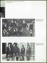 1971 Nottingham Convent of the Sacred Heart High School Yearbook Page 86 & 87