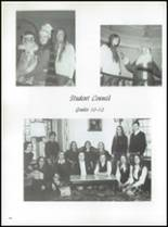 1971 Nottingham Convent of the Sacred Heart High School Yearbook Page 100 & 101