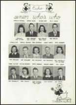1942 Fayette County High School Yearbook Page 30 & 31