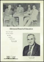 1955 Glenwood High School Yearbook Page 14 & 15