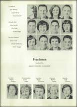1955 Glenwood High School Yearbook Page 36 & 37