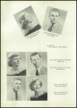 1955 Glenwood High School Yearbook Page 40 & 41