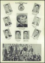1955 Glenwood High School Yearbook Page 50 & 51