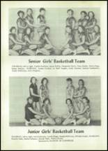 1955 Glenwood High School Yearbook Page 66 & 67