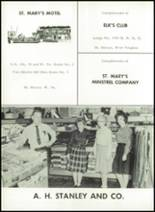1965 St. Marys High School Yearbook Page 164 & 165