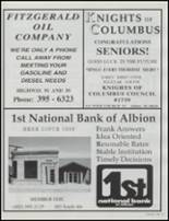 2001 Albion High School Yearbook Page 76 & 77