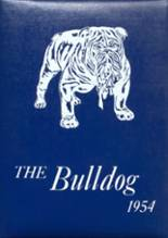 1954 Yearbook Bratton Union Consolidat High School