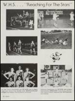 1986 Wewoka High School Yearbook Page 44 & 45