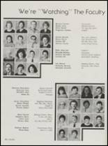 1986 Wewoka High School Yearbook Page 52 & 53