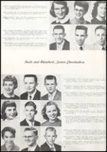 1957 Missoula County High School Yearbook Page 50 & 51