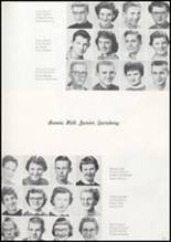1957 Missoula County High School Yearbook Page 66 & 67
