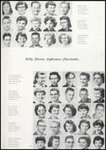 1957 Missoula County High School Yearbook Page 86 & 87