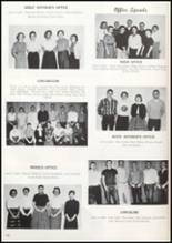 1957 Missoula County High School Yearbook Page 124 & 125
