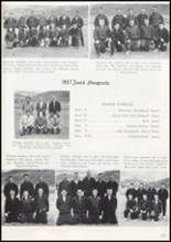 1957 Missoula County High School Yearbook Page 180 & 181