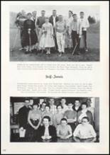 1957 Missoula County High School Yearbook Page 182 & 183