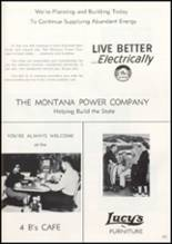 1957 Missoula County High School Yearbook Page 184 & 185