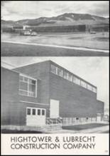 1957 Missoula County High School Yearbook Page 202 & 203