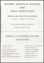 1957 Missoula County High School Yearbook Page 206 & 207