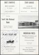 1957 Missoula County High School Yearbook Page 208 & 209