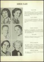 1954 Moran High School Yearbook Page 10 & 11