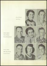 1954 Moran High School Yearbook Page 16 & 17