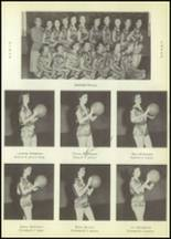 1954 Moran High School Yearbook Page 40 & 41