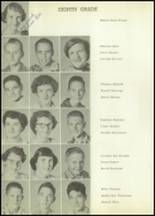 1954 Moran High School Yearbook Page 42 & 43