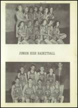 1954 Moran High School Yearbook Page 50 & 51