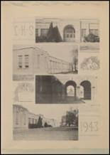 1943 Lindale High School Yearbook Page 14 & 15