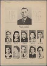 1943 Lindale High School Yearbook Page 16 & 17