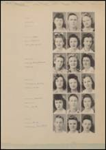 1943 Lindale High School Yearbook Page 22 & 23