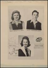 1943 Lindale High School Yearbook Page 48 & 49