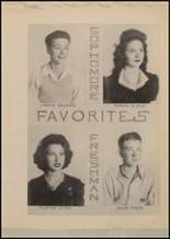 1943 Lindale High School Yearbook Page 56 & 57