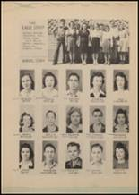 1943 Lindale High School Yearbook Page 60 & 61