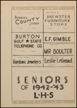 1943 Lindale High School Yearbook Page 140 & 141