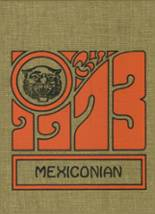 1973 Yearbook Mexico Academy & Central High School