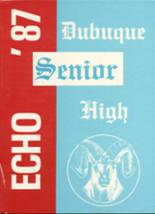 1987 Yearbook Dubuque High School