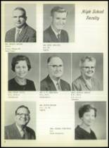 1963 Lefors School Yearbook Page 12 & 13