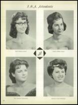 1963 Lefors School Yearbook Page 38 & 39