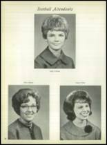 1963 Lefors School Yearbook Page 42 & 43
