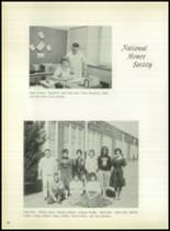 1963 Lefors School Yearbook Page 56 & 57