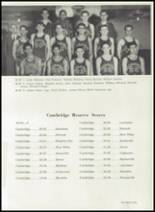 1948 Cambridge High School Yearbook Page 74 & 75