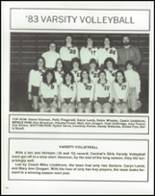 1983 Walled Lake Central High School Yearbook Page 126 & 127