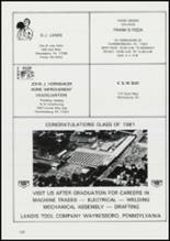 1981 Franklin County Area Vocational School Yearbook Page 172 & 173