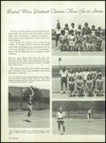 1980 Baird High School Yearbook Page 76 & 77