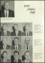 1959 Roswell High School Yearbook Page 14 & 15