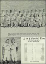1959 Roswell High School Yearbook Page 46 & 47